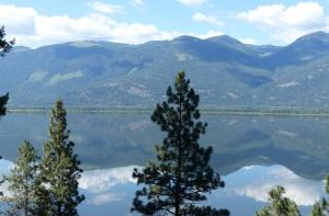 Kootenay lake vista.