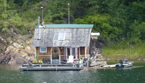 Houseboat at Kaslo