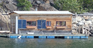 Houseboat at Kaslo
