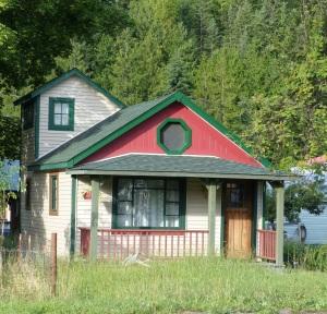 Quaint house at Kaslo.