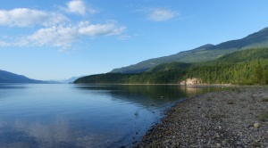 Morning on Upper Arrow Lake at Kaslo.