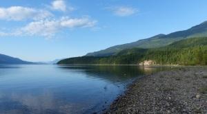 Morning on Upper Arrow Lake at Kaslo.