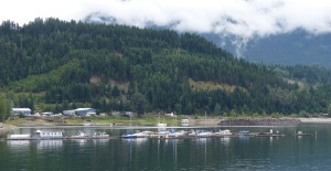 Marina at Kaslo.