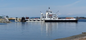 BC Ferries car ferry at Crofton.