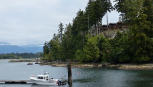 Port Renfrew and marina.