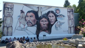 First Nations Mural at Crofton.