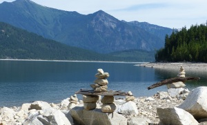 Close up Inuksuk