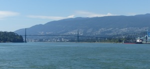 Lions Gate Bridge.