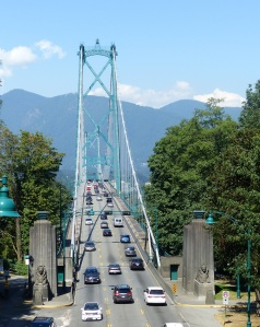 Busy Lions gate Bridge,