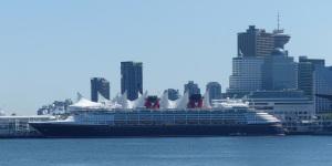 The Disney Cruise ship, Disney Wonder.