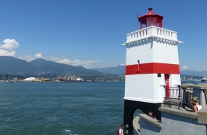 Brockton Point Lighthouse within Stanley Park.