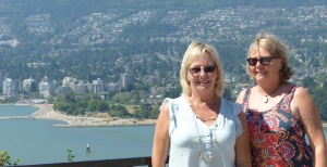 Linda and Donnis at Stanley Park.