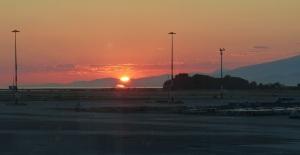 Our last sunset inCanada.