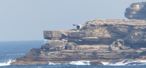 A pill box on the southern cliffs of Maroubra Beach.