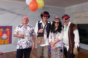 My good friend Tony whom I met in 1966 when looking for the bus to take us away to life in the Army for two years. We have been friends ever since. Brother in Law Ken with my sister Enid and me in pirate garb.