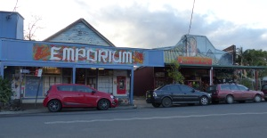 More painted stores at Nimbin.