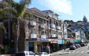 Every shop at Bronte Beach is an eatery,