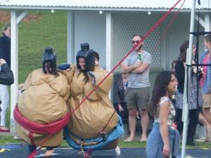 Sumo Wrestlers at Bronte.