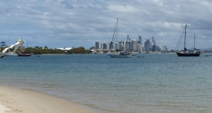 Surfers Paradise from The Spit.