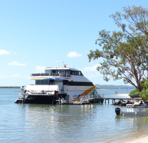 Gold Coast Adventures Cruise boat.