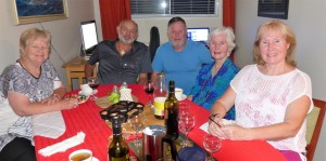 Wenke, Graeme, Frank, Dee Dee and Glenda.