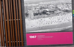Can you imagine what Surfers Paradise visitors in 1967 would have thought about all the high rise we have now.