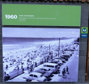 Look at this> Being able to park right up to the edge of the beach. Not anymore.
