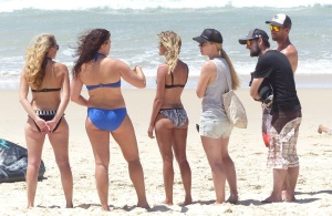 Some of the ladies competitors.