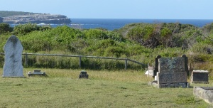 Site of the cemetery within Botany Bay National Park
