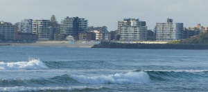 Forster seen from Tuncurry Beach.
