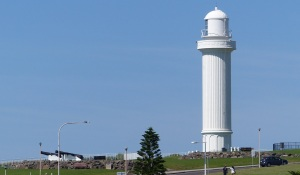 Main lighthouse on Flagstaff Hill.