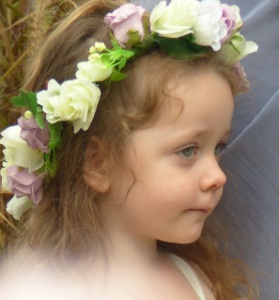 Flowergirl April.