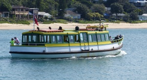 The delightful old timber ferry which took us from Cronulla to Bundeena.
