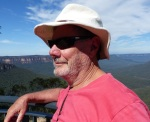 Look beyond the bearded guy in the crumpled hat and note the huge sandstone cliffs of the Grose Valley.