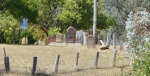 Boot Hill, the dead centre of Sofala.