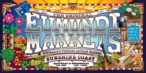 Poster for Eumundi Markets.